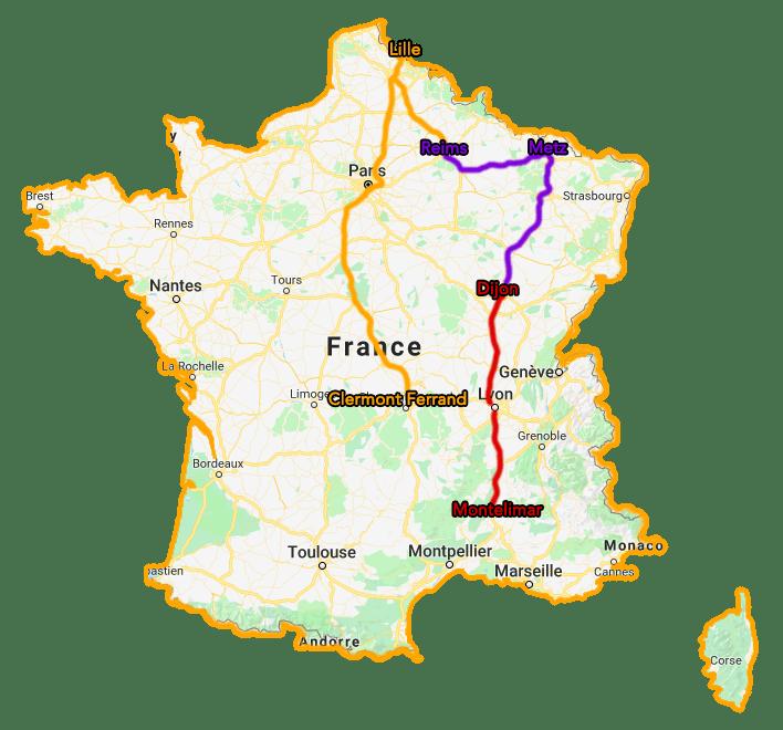 Trajet Tour de France TousGamers 03