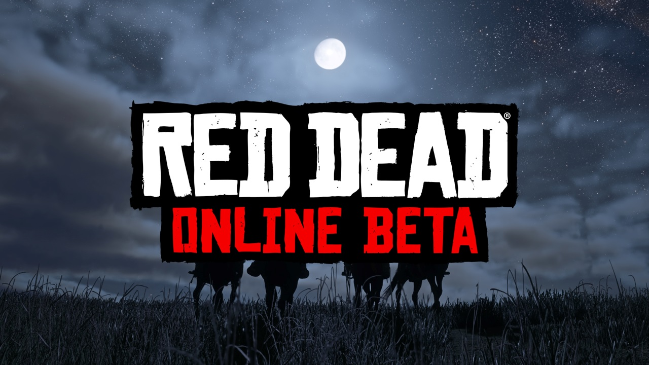 Bannière Red Dead Online Beta 2