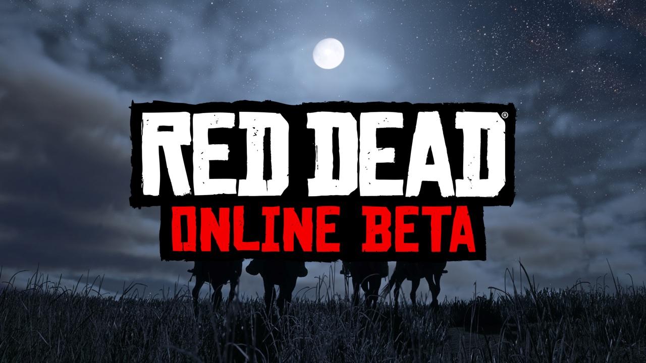 Bannière Red Dead Online Beta 2
