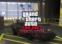 """La mise à jour """"Guerre d'arène"""" est désormais disponible sur GTA Online"""