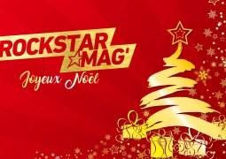 Un joyeux Noël 2018 de la part de toute l'équipe Rockstar Mag' !