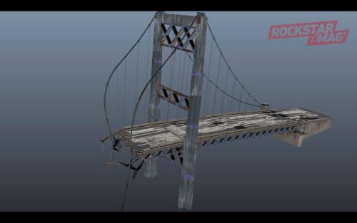 Pont Docks Los Santos Détruit