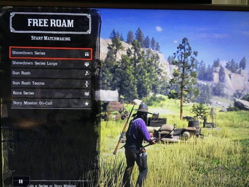 Red Dead Online Gun Rush Team