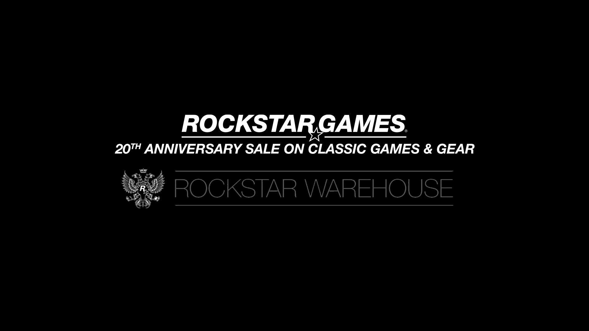 Rockstar Games 20th Anniversary Rockstar Warehouse