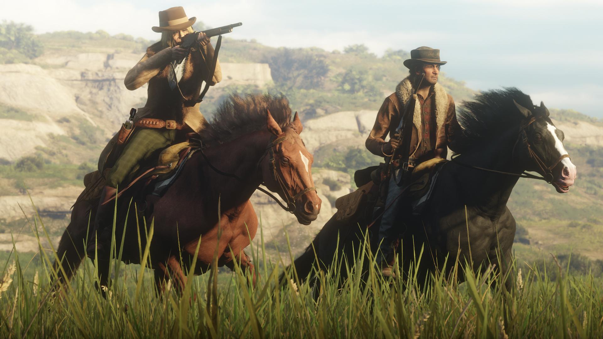 Screenshot Red Dead Online Beta