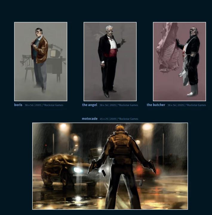 Max Payne 3 Artwork Russie