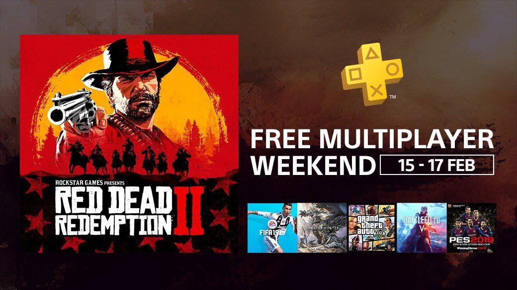 week-end gratuit pour gta online et red dead online