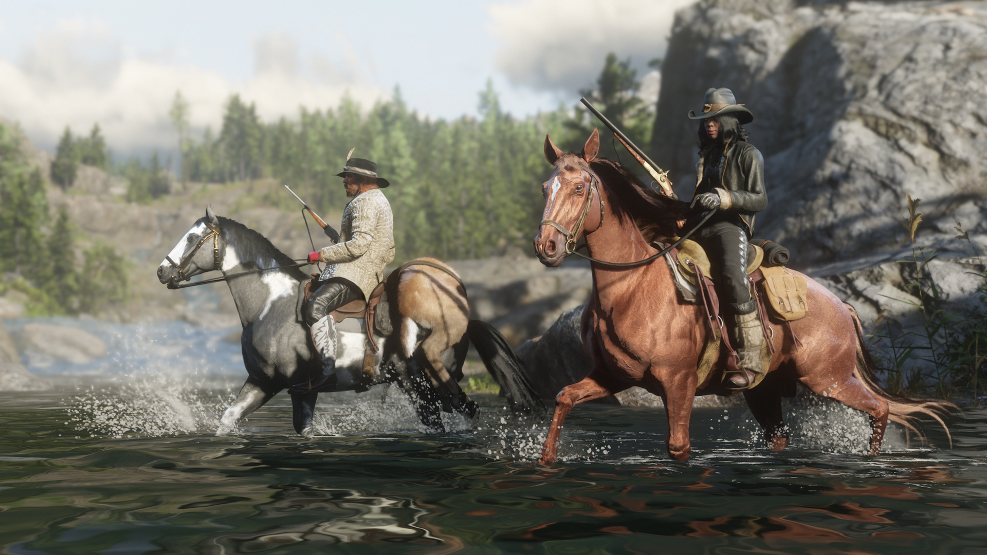 Wallpaper Red Dead Online Update 26 Février 2019