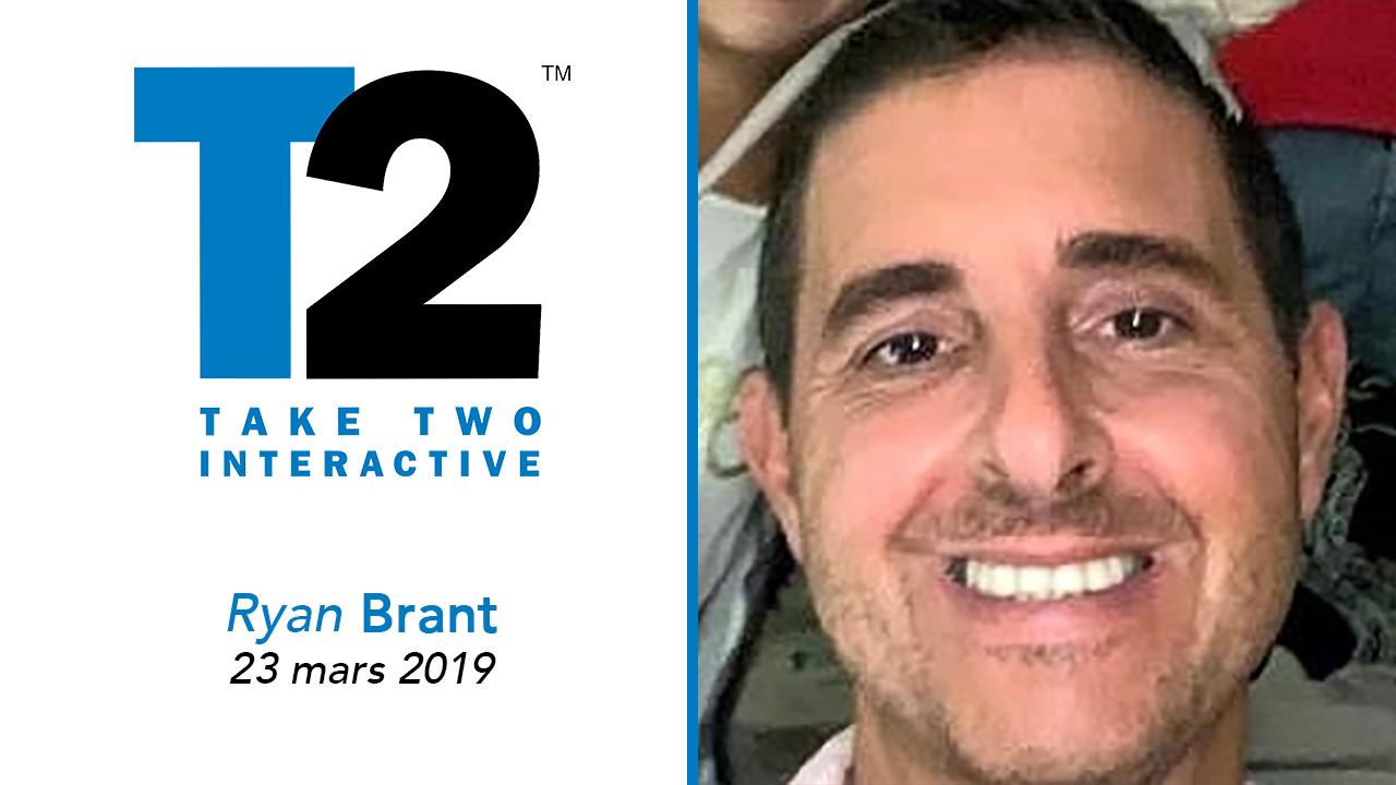 Décès Ryan Brant, fondateur de Take Two Interactive