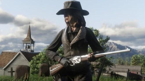 Carabine Evans Red Dead Online