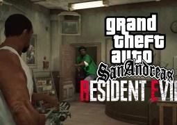 CJ, Big Smoke, GTA San Andreas - Resident Evil 2 Mod