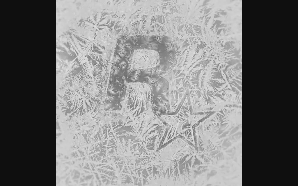 Message Rockstar HolidaysBlack & White