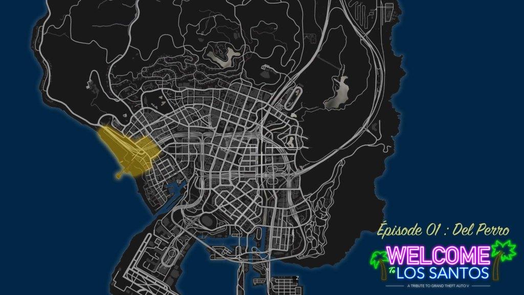 MAP GTA V Del Perro