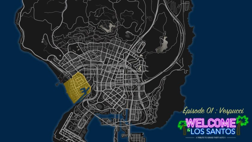 MAP GTA V Vespucci