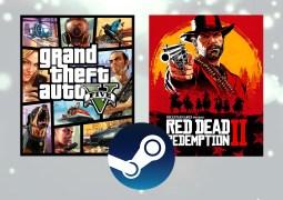GTA V et Red Dead Redemption II parmi les jeux les plus joués sur Steam en 2019