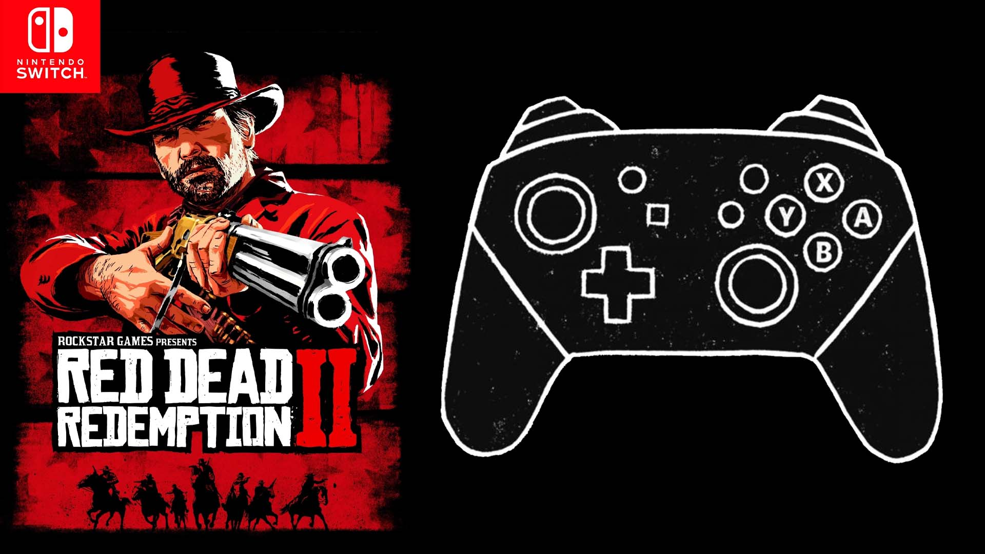 Red Dead Redemption II Manette Switch Pro