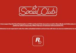 Nouvelle maintenance générale des services de Rockstar le 5 mars 2020