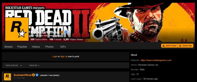 Rockstar Games Pornhub
