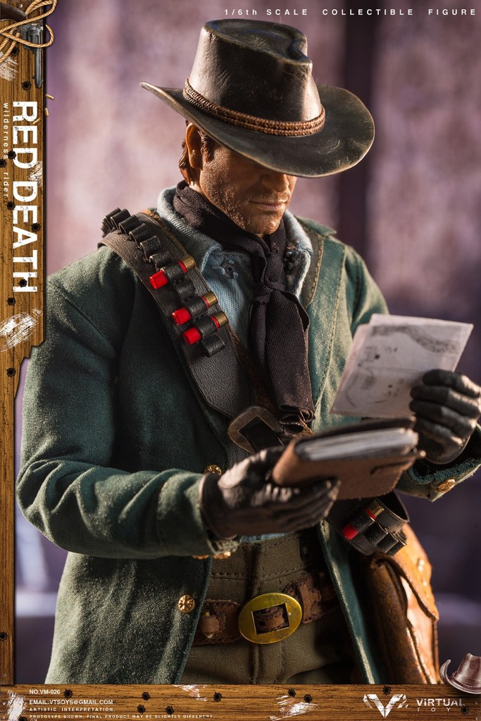 Figurine Wilderness Rider Red Dead Redemption II (4)