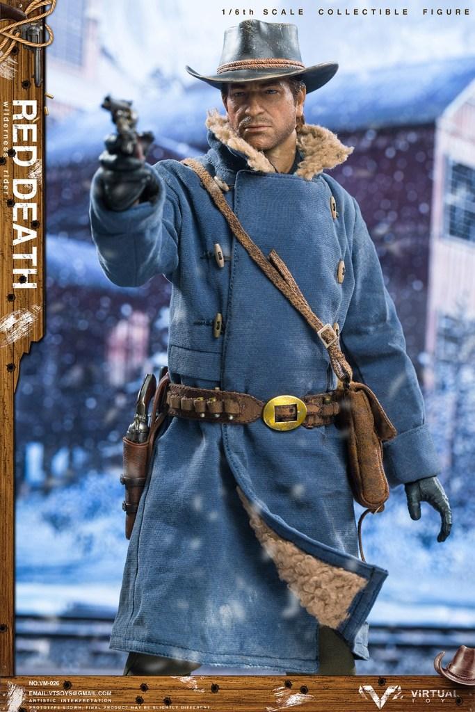 Figurine Wilderness Rider Red Dead Redemption II (5)