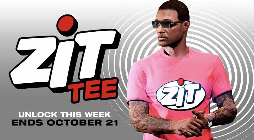 T-Shirt Zit GTA Online