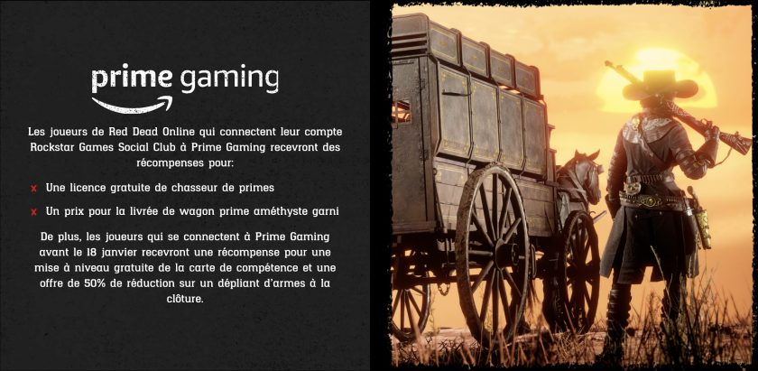 Prime Gaming Red Dead Online Nouvel An