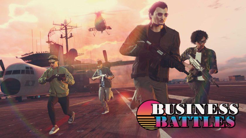 GTA Online Guerres Commerciales Doublées