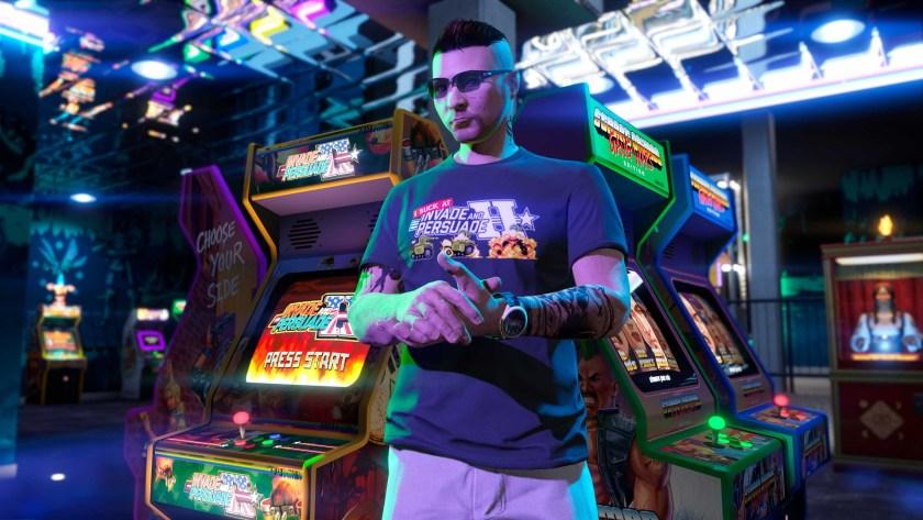 t-shirt Invasion Pacifique GTA Online