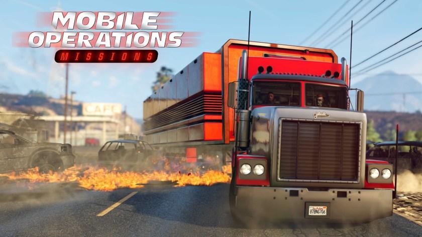 Missions Centre d'opérations mobile GTA Online