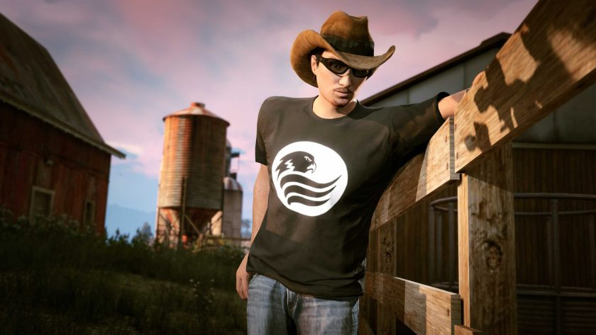 GTA Online T-Shirt Blaine County Radio