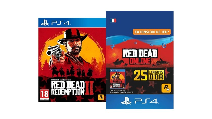 Red Dead Redemption II Standard PS4 Pack Lingots