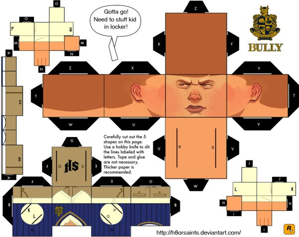 bully_papercraft_by_h8orsaints-d3bshqd