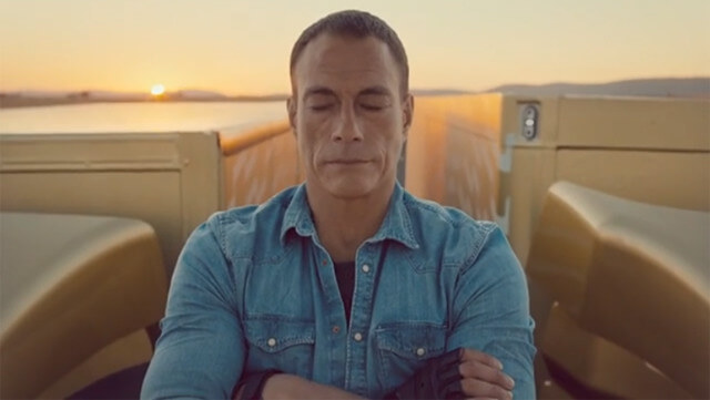 Volvo Trucks: The Epic Split feat. Van Damme - rockster.tv