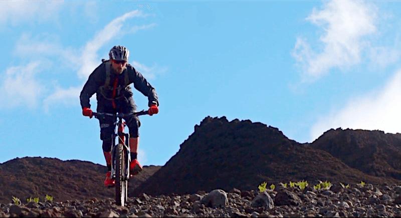 Schöner Trail auf Hawaii