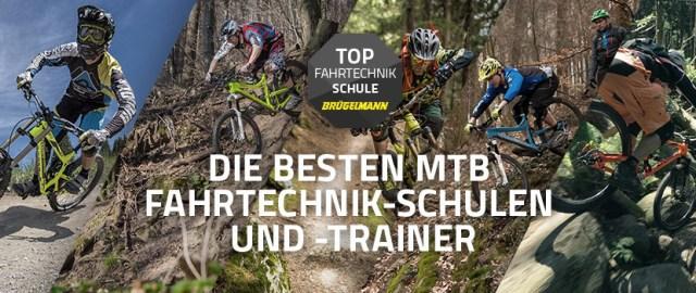 MTB Fahrtechnik-Schulen und -Trainer