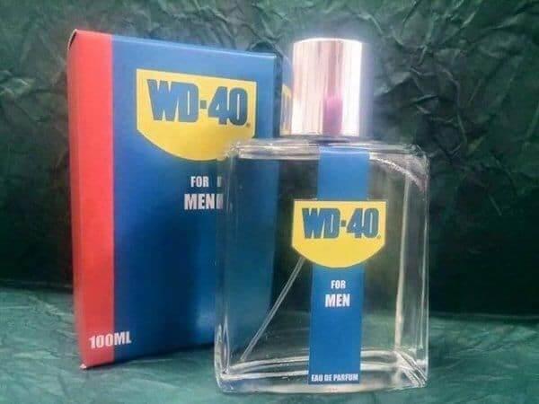 WD-40 for men, endlich