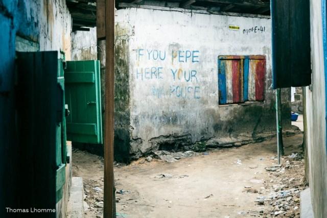 Ne pas uriner sur les murs!