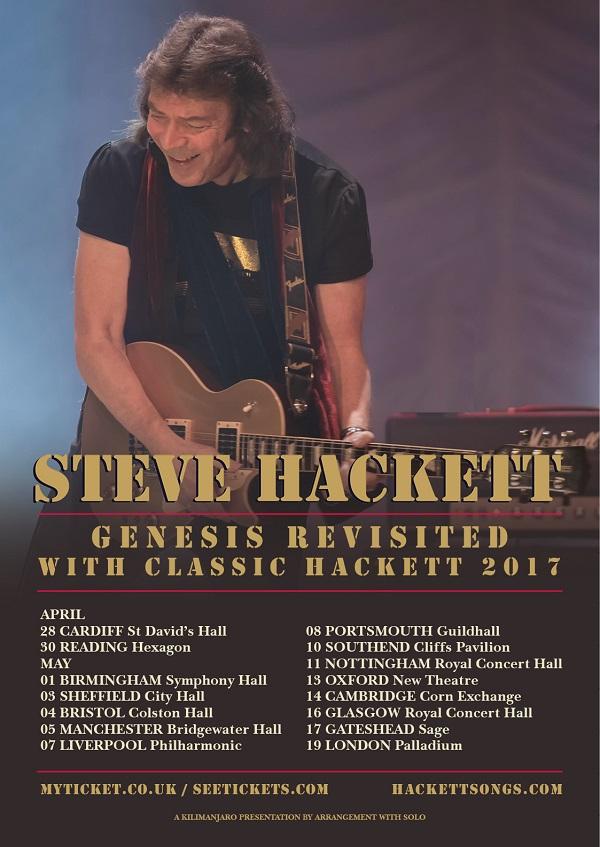 SteveHackett  Tour-poster2017