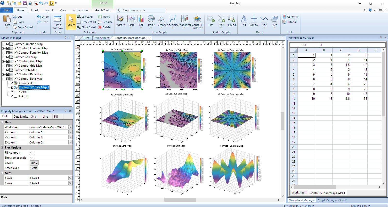 New Features In Grapher 13