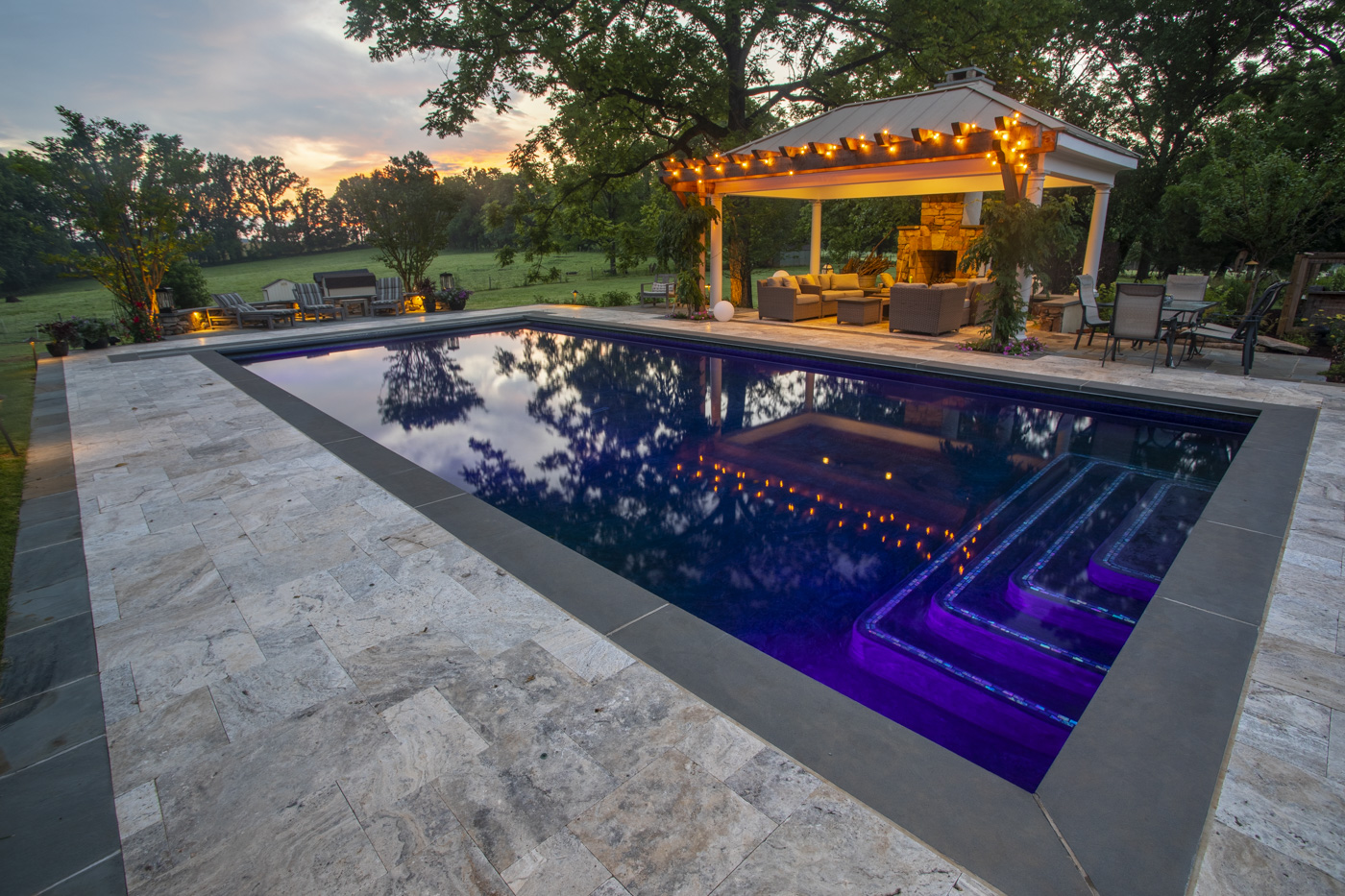 the best pool patio material comparing