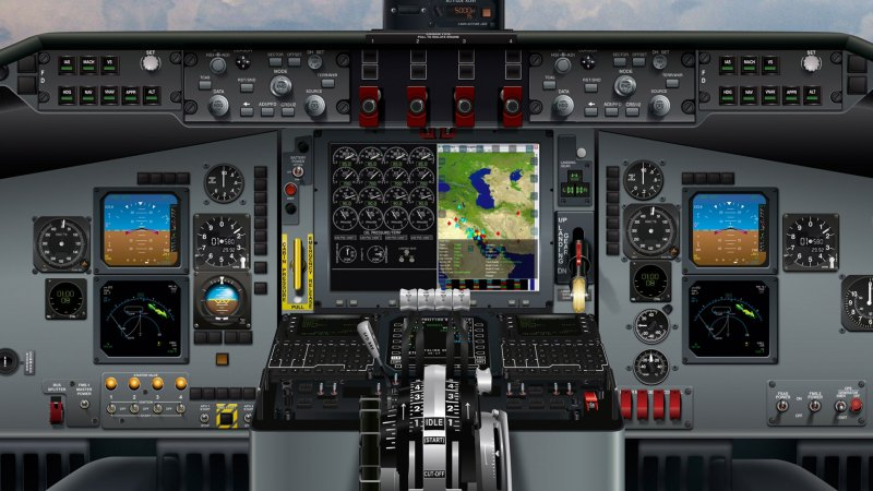 Real Time Information in the Cockpit (RTIC) system