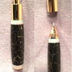 Black & Gold Opal PenDant