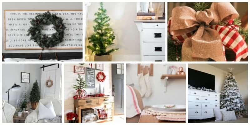 Home For the Holidays Christmas Home Tours - Wednesday - Christmas decorating ideas for the home