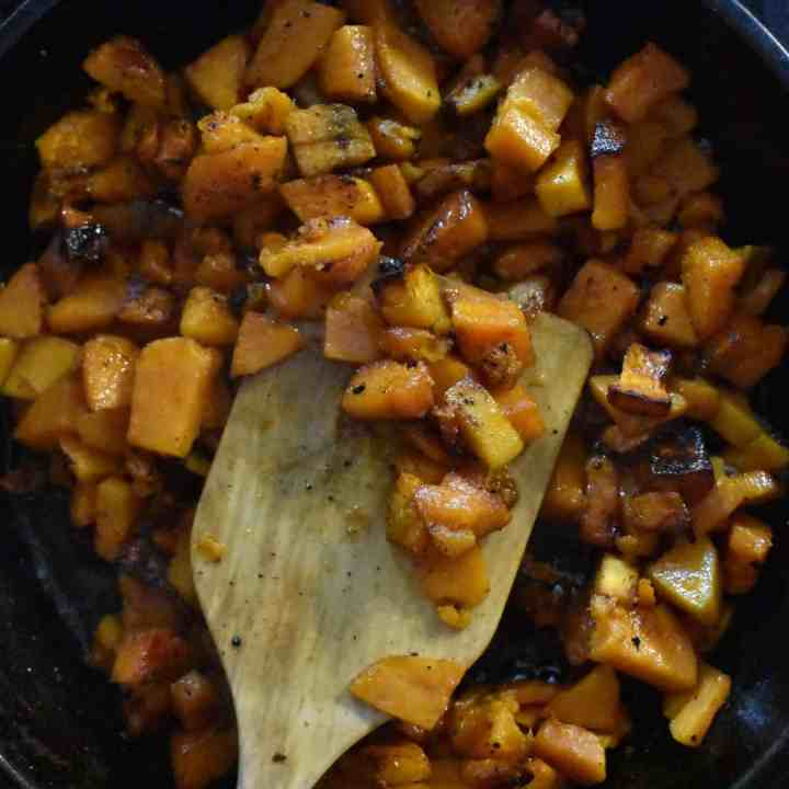 How to Cook Sweet Potatoes in a Cast Iron Skillet