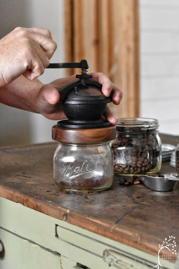 zero waste coffee grinder made in the USA