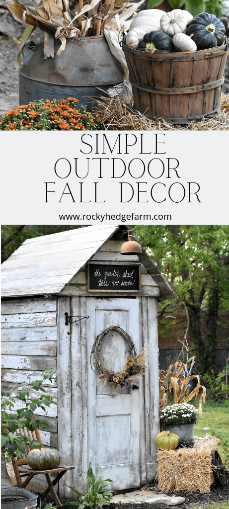 Simple Fall Outdoor Decorating Ideas