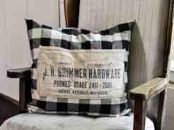 Vintage Hardware Apron Envelope Pillow Cover