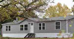 Mobile Home Farmhouse Exterior Remodel Rocky Hedge Farm