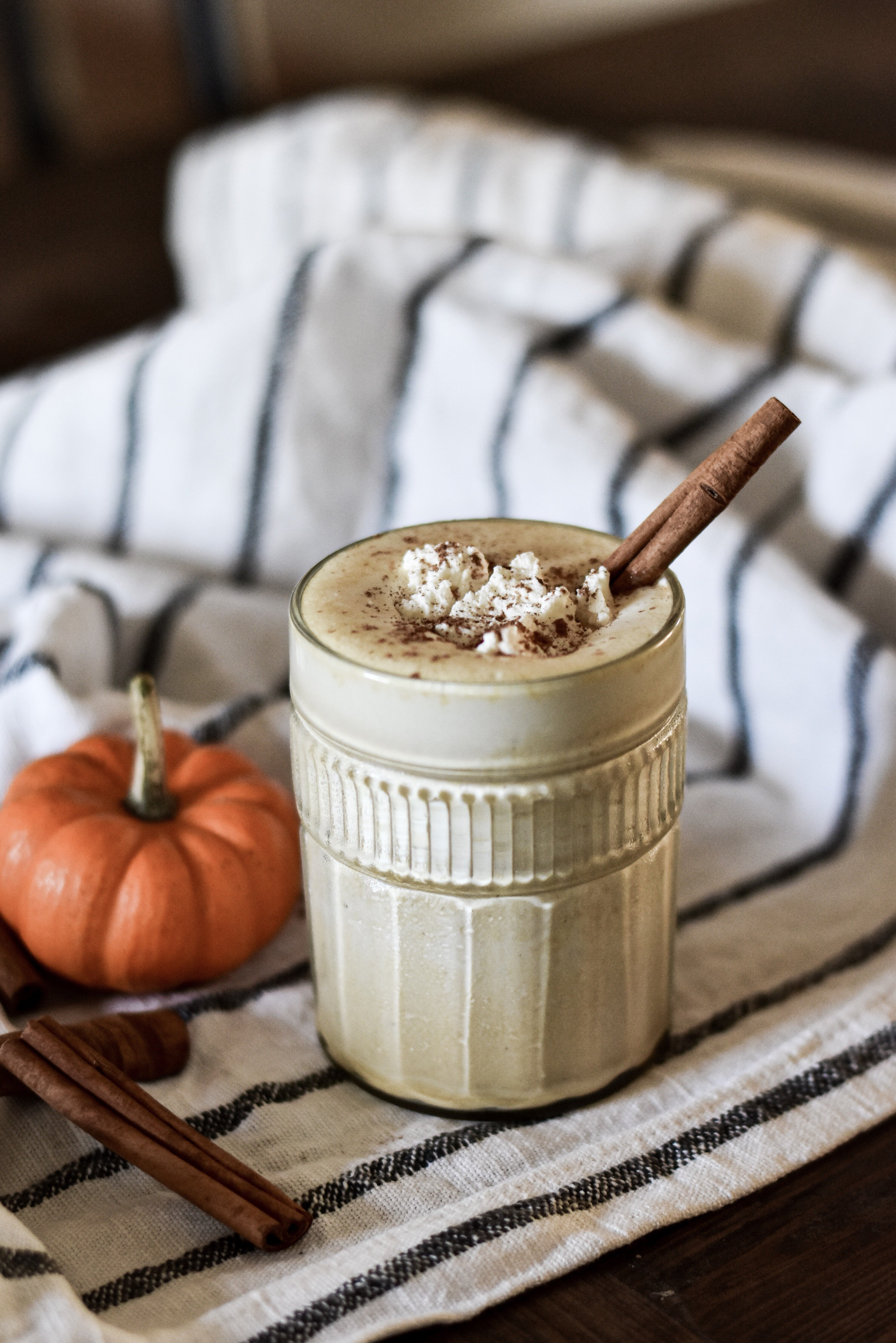 Healthy Easy No Banana Pumpkin Pie Smoothie