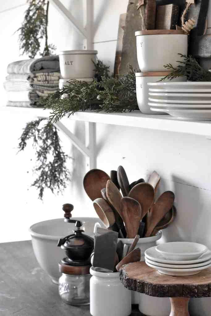 Cypress Christmas Garland